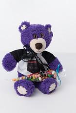 Ourson Mauve Tender Teddy
