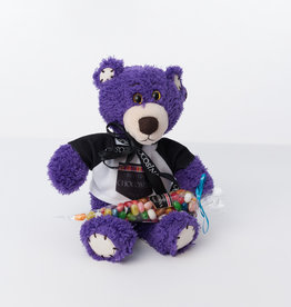 Plush Purple Tender Teddy