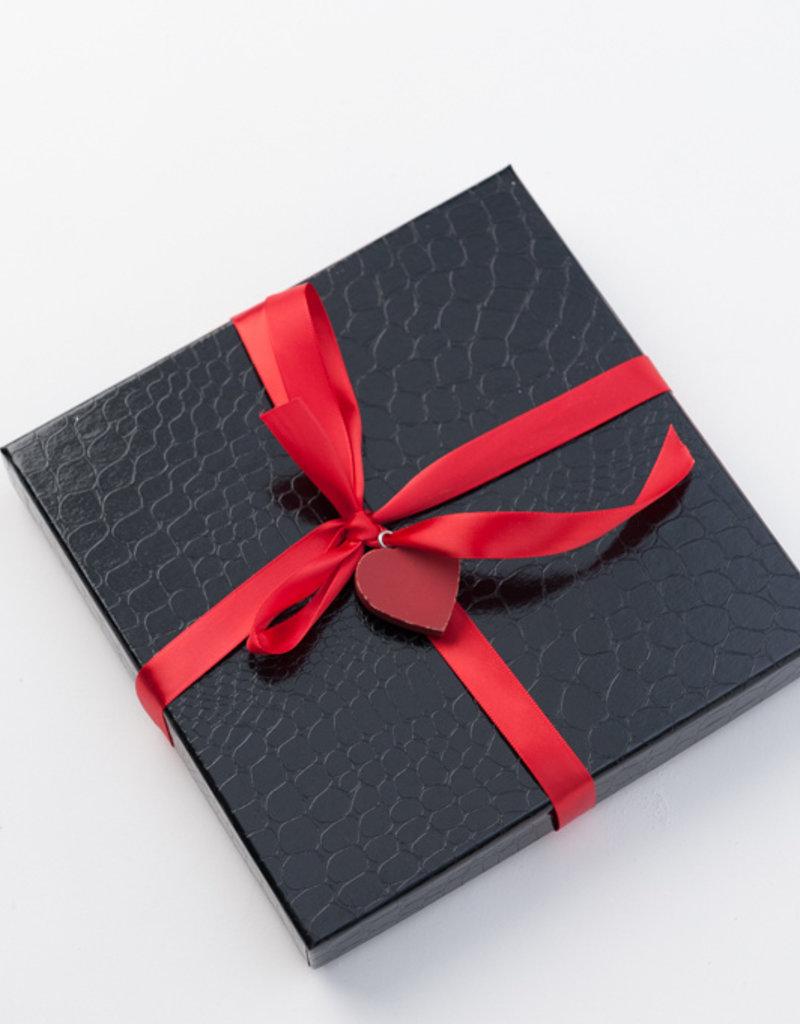 3 Tablettes Boîte Cadeau Croco