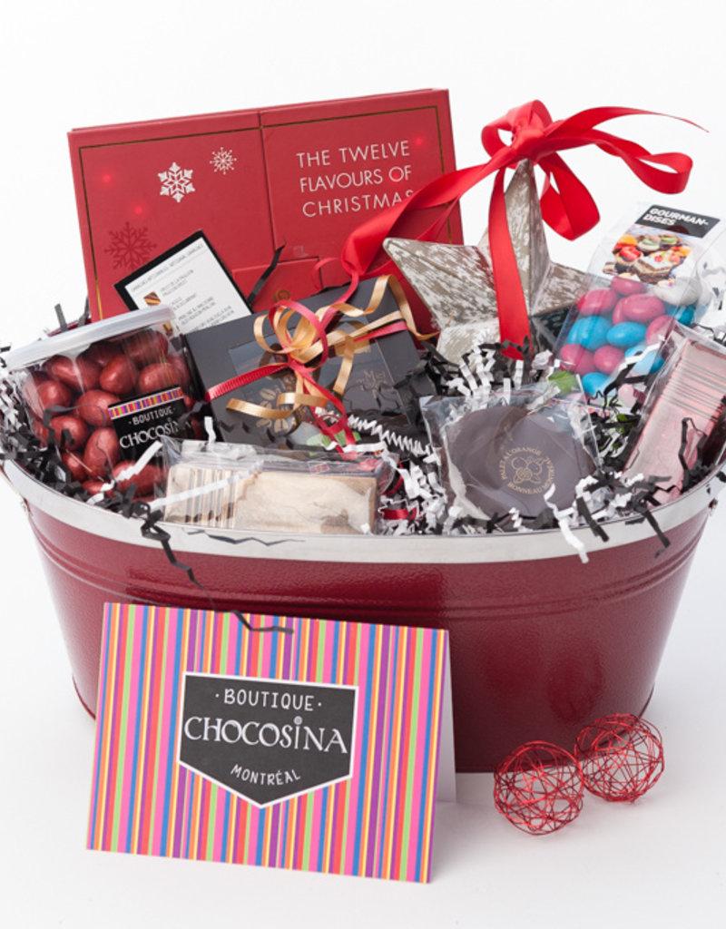 Chocolate Festive Basket