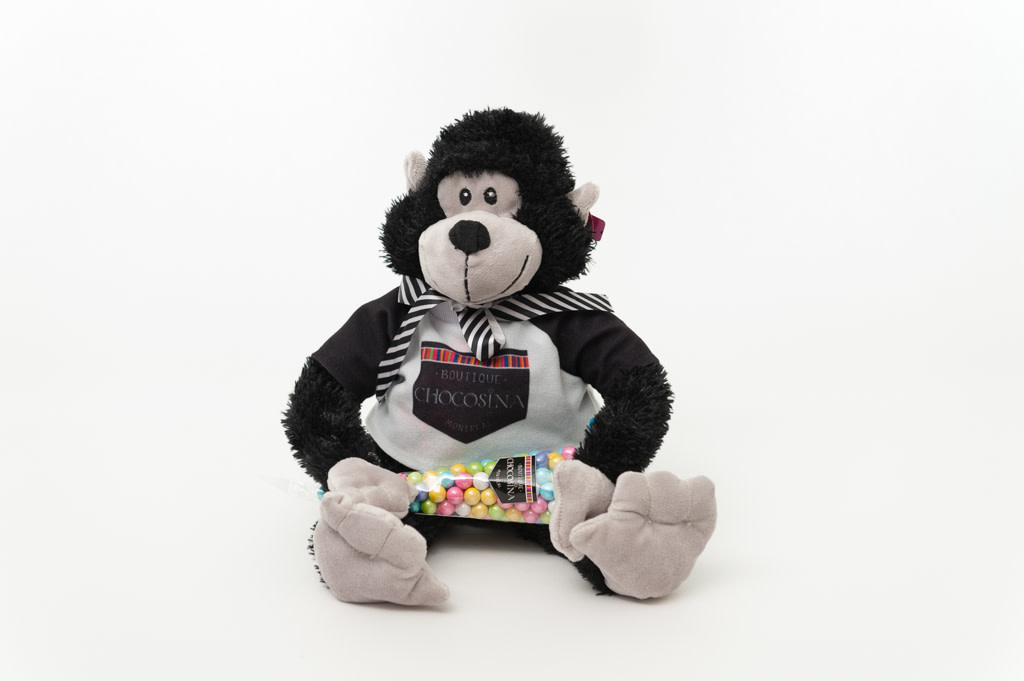 "Plush Manly Monkey 10"""