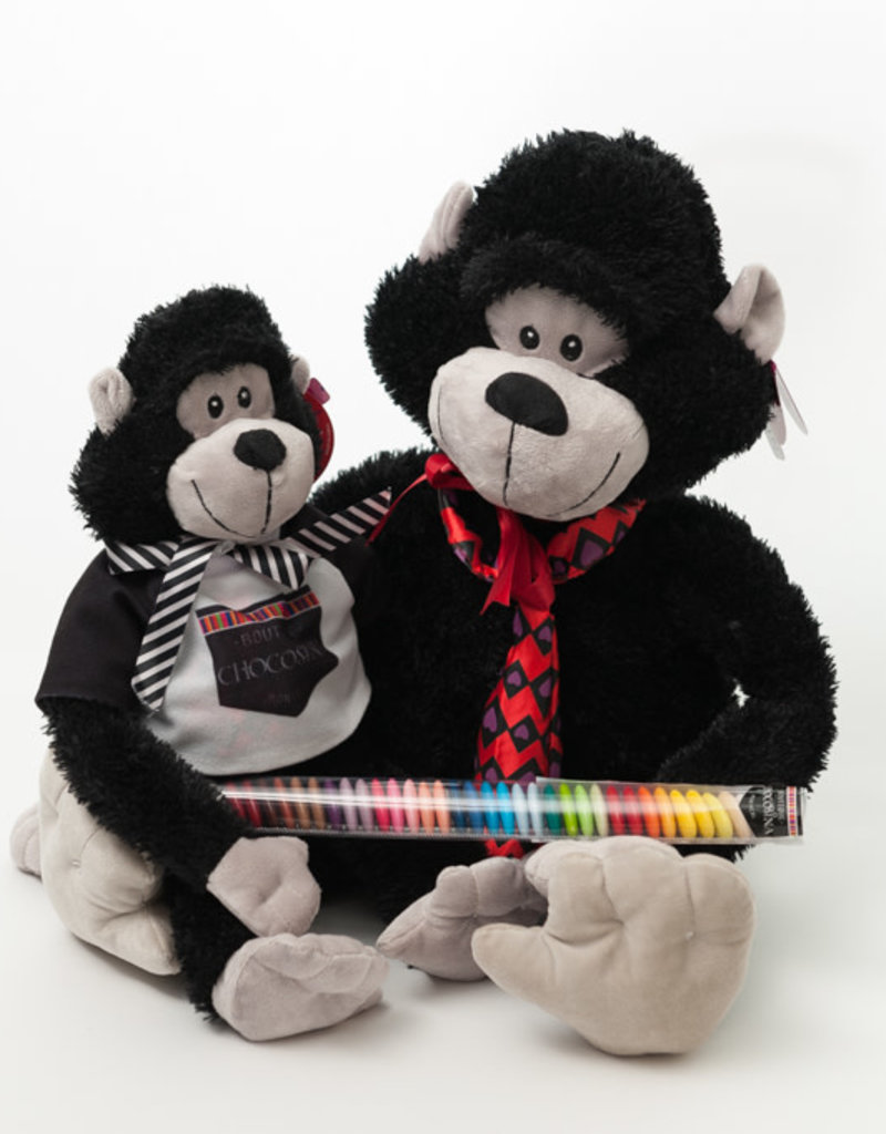 Plush Manly Monkey 10""