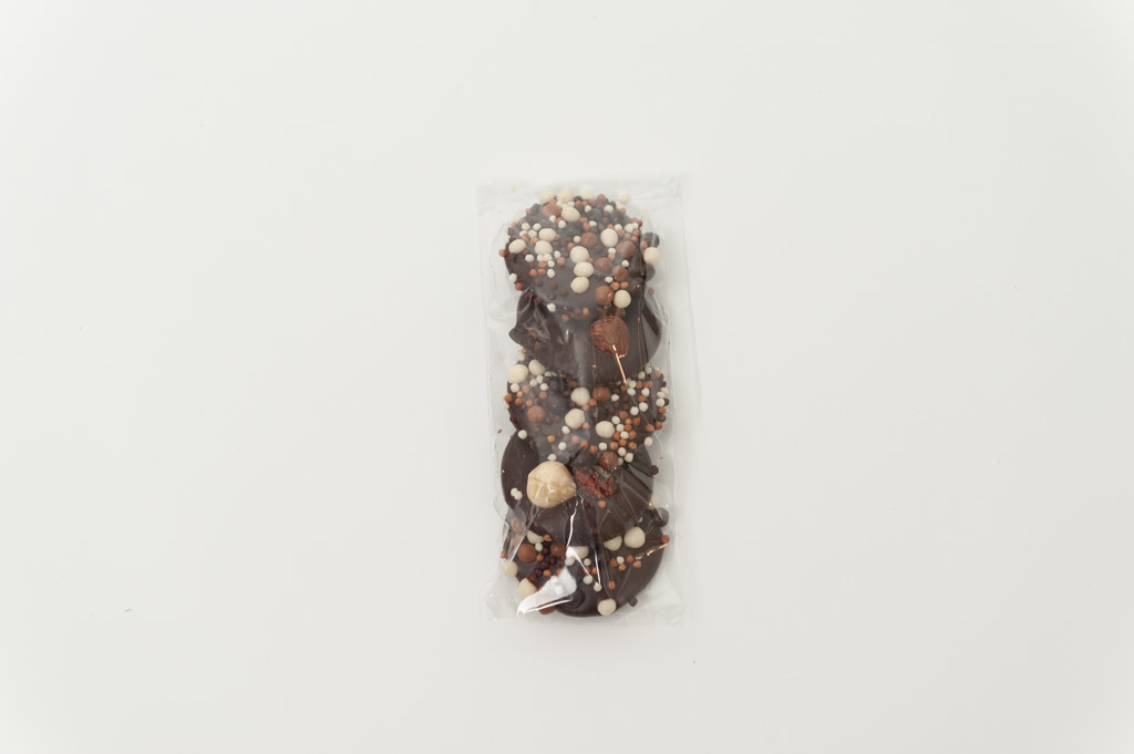 Dark Chocolate Cookies & Nuts 5pc