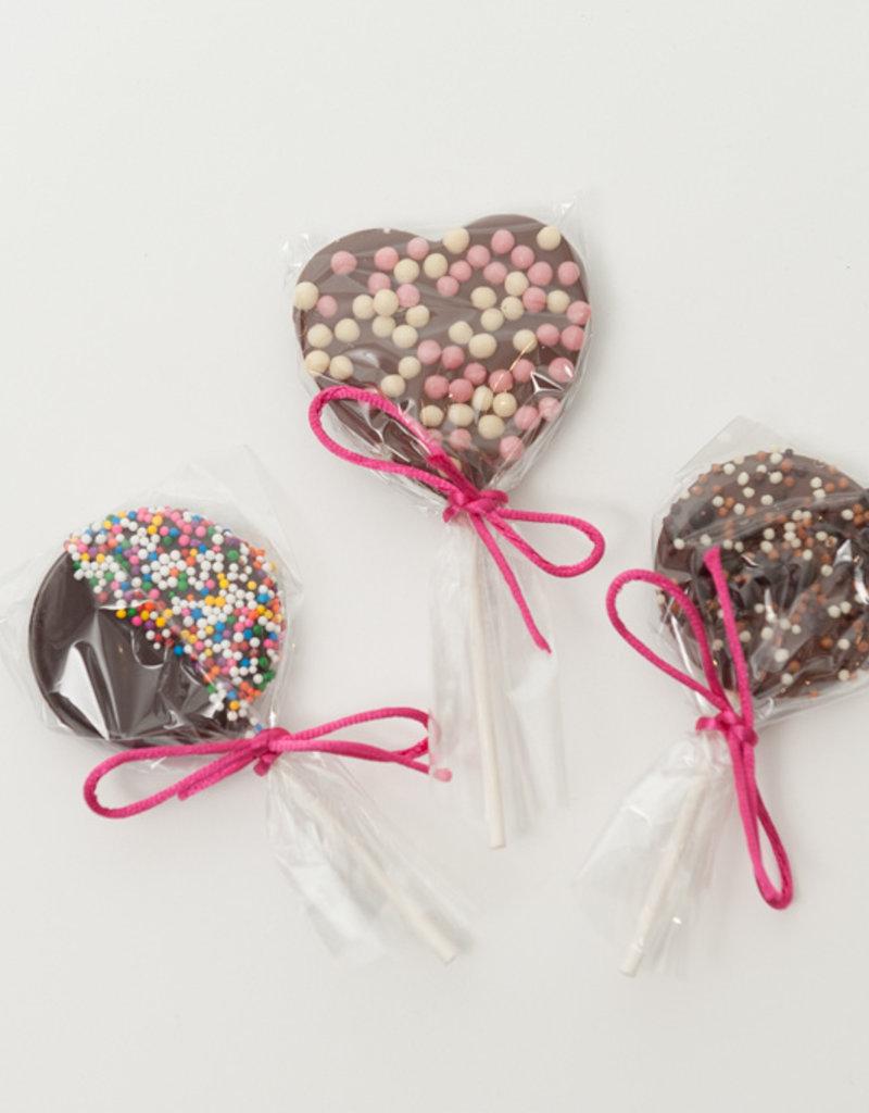 Suçon coeur chocolat au lait 30g