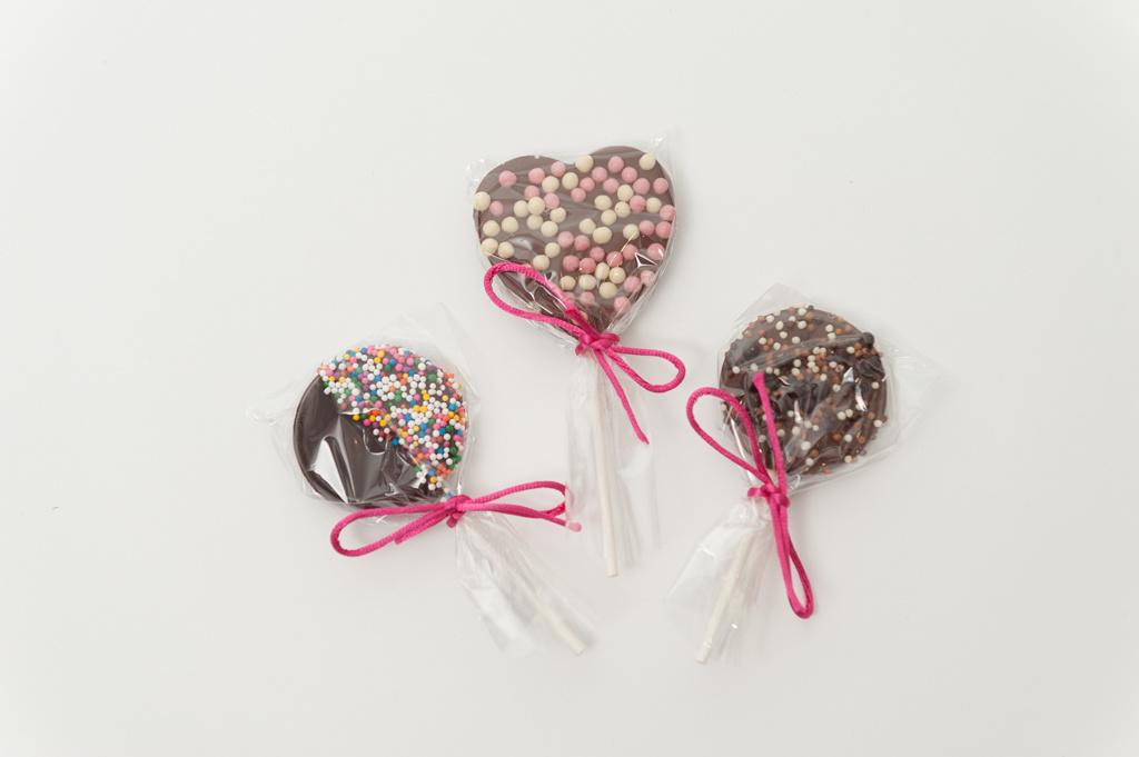 Heart Milk Lollipop