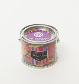 Licorice Bites - Gummy Wheels Can Mix