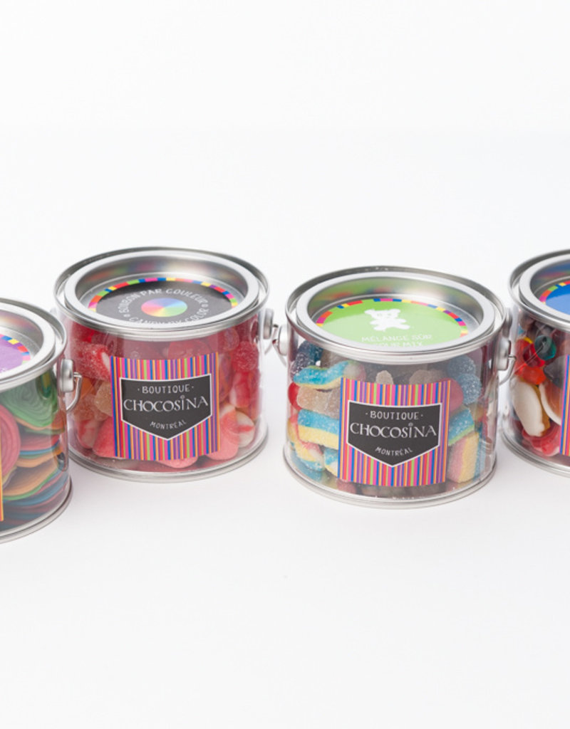 Licorice Wheels Paint Can