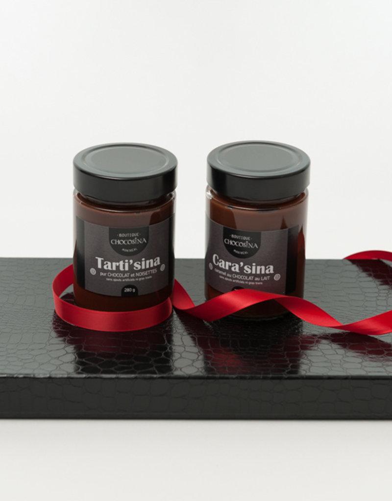 Tartinade chocolat noir et noisettes 280g