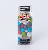 Dark Choc Caramel Pebbles Assorted 200g