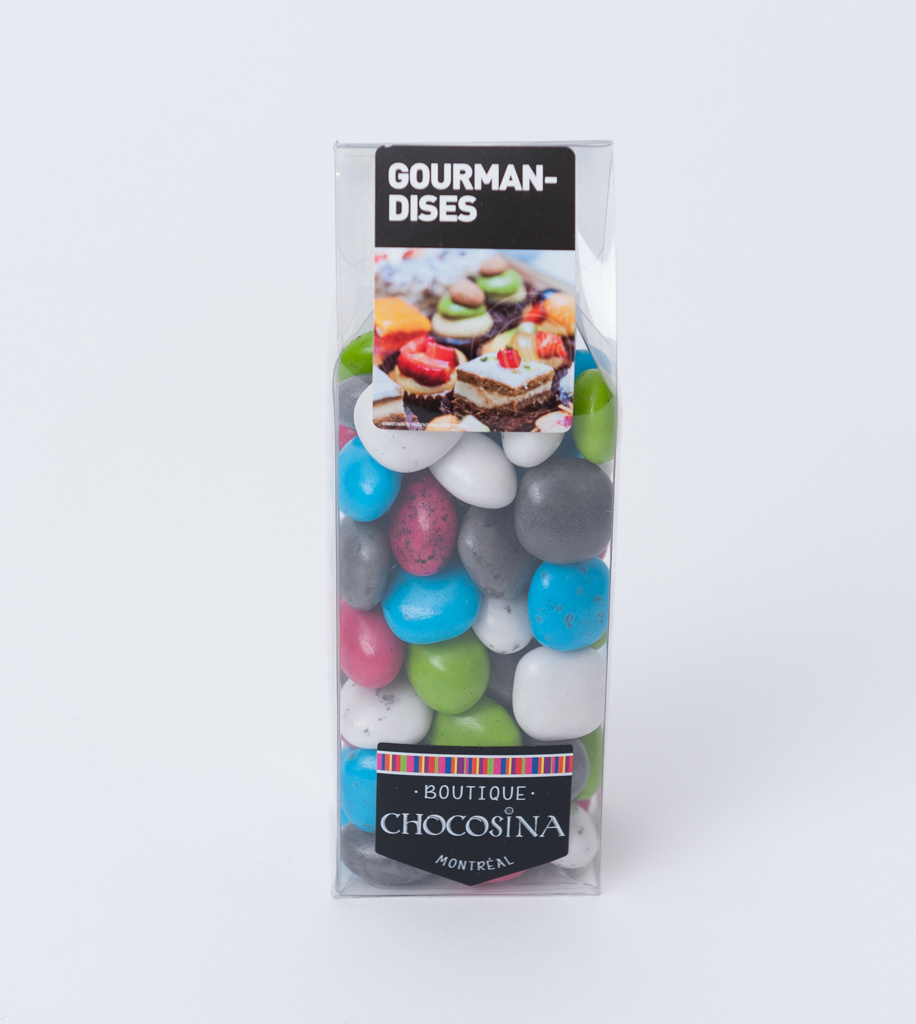 Dark Choc Caramel Pebbles Assorted 200g