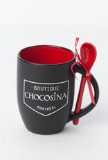 Choco Mug 12oz - Candy Red