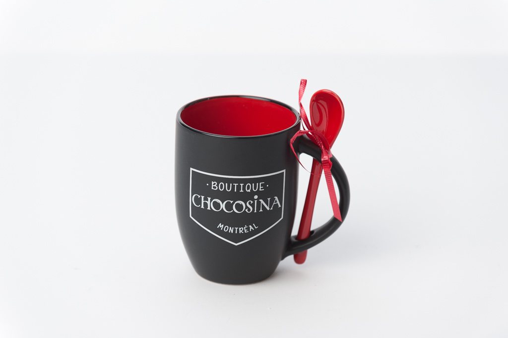Tasse Chocosina 12oz - Rouge