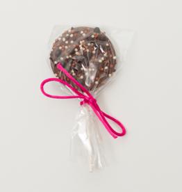 Suçon chocolat au lait et perles craquantes