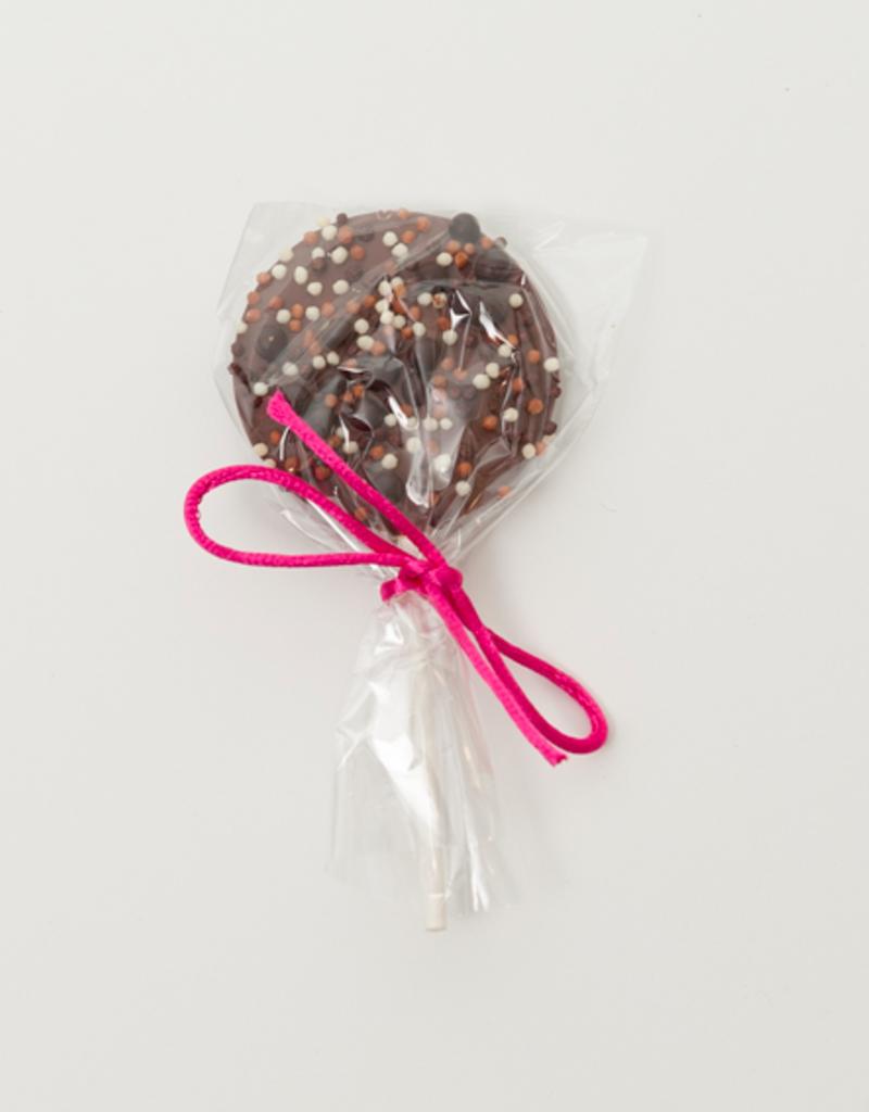 Suçon chocolat au lait et perles craquantes 20g