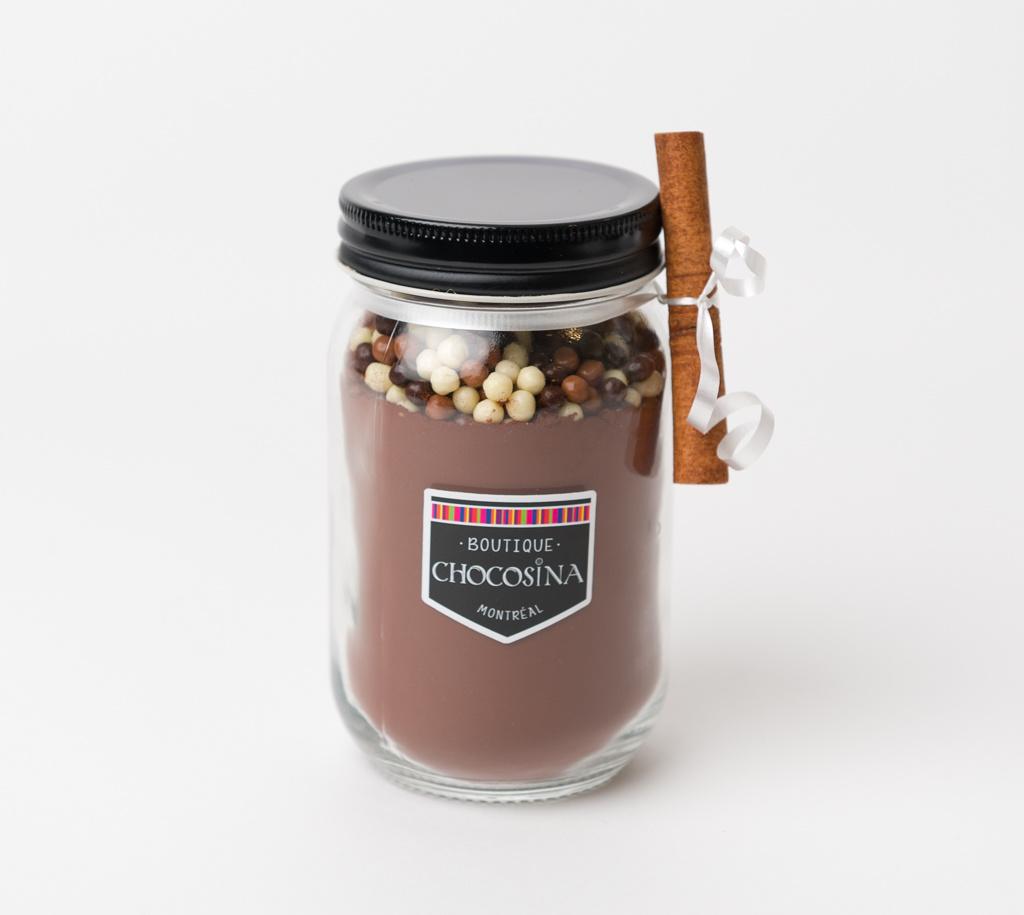 Pot mélange pour chocolat chaud artisanal 285g