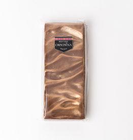 Tablette dorée chocolat au lait , caramel & perles craquantes 250g