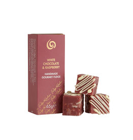 Artisanal Fudge - Trio White Chocolate & Raspberry