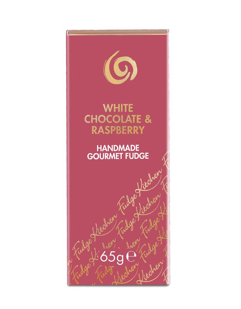 Fudge Artisanal - Trio chocolat blanc & framboise