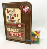 Sweeting Cards Francais - Avec Amour REWLM1F