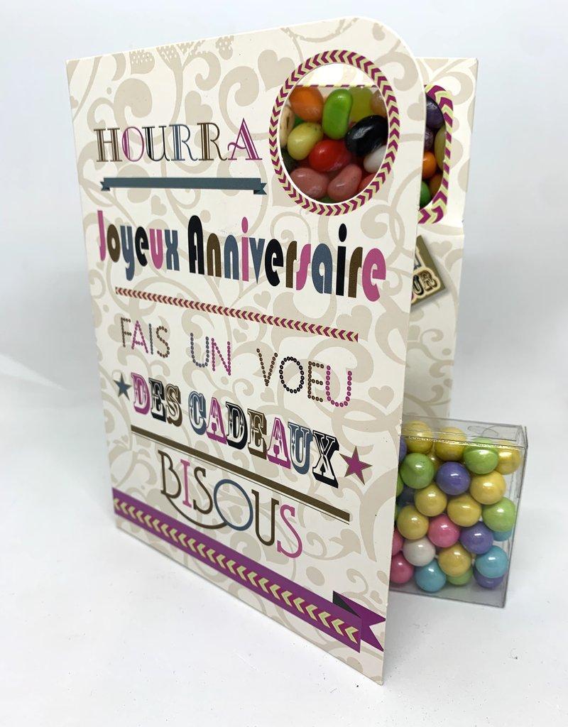 Sweeting Cards Francais - Bon Anniversaire REHBF2F