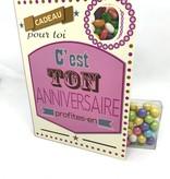 Sweeting Cards Francais - Bon Anniversaire REHBF1F
