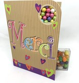 Sweeting Cards Francais - Merci NKTXU1F