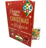Sweeting Cards - English Xmas & New Year Happy Christmas Wishes (SRXMU18)