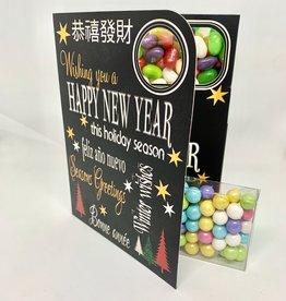 Sweeting Cards - English Xmas & New Year Wishing You A Happy New Year (SRXMU11)