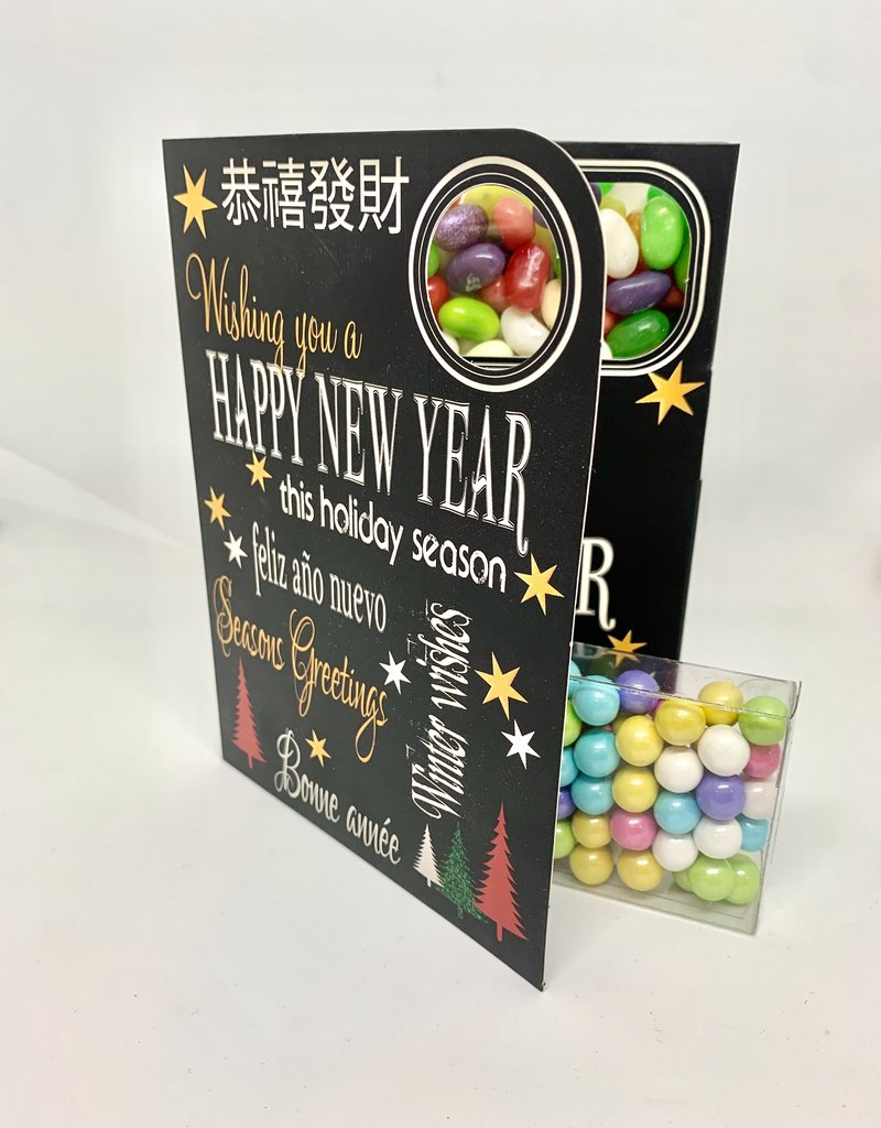 Sweeting Cards - English Xmas & New Year Wishing You A Happy New Year (SRXMU11)