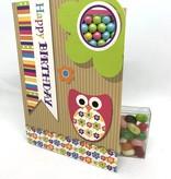 Sweeting Cards - English Neon Kraft