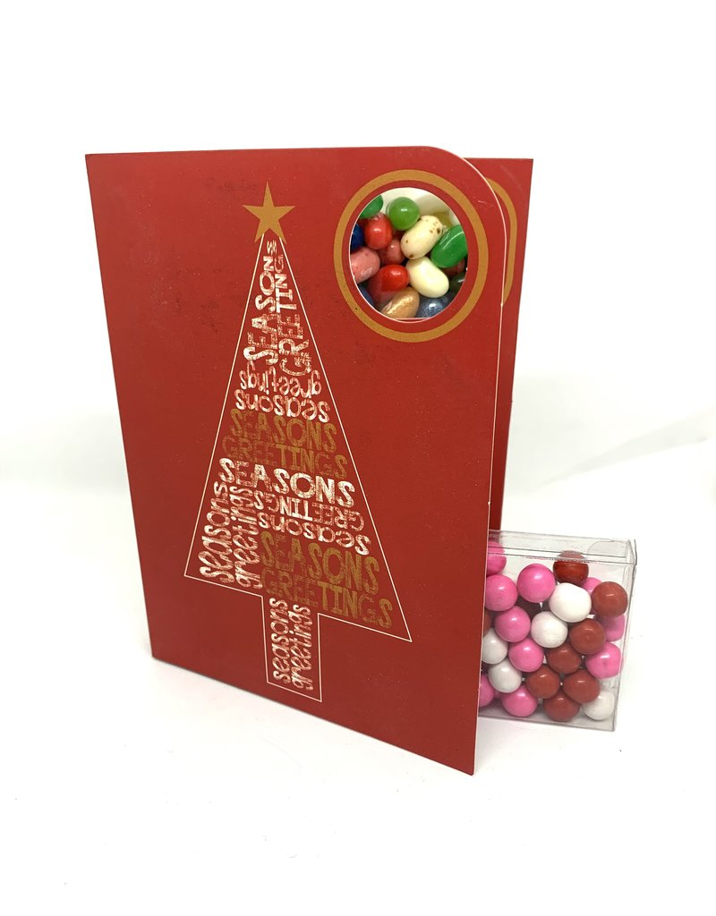 Sweeting Cards - English Xmas & New Year Season's Greetings (SRXMU17)
