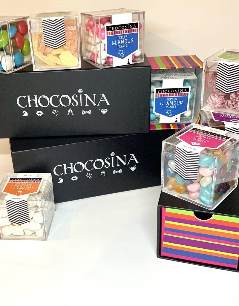 Boîte-cadeau tentation  gourmet (3 cubes)