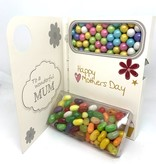 Sweeting Cards - English Mother & Father Days With Love To A Yummy Mummy (SRMTH6)