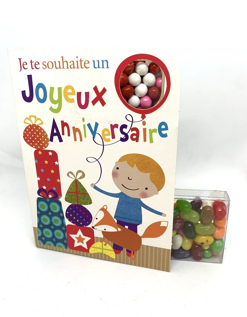 Copy of Sweeting Cards French - Felicitations NKBLU1F