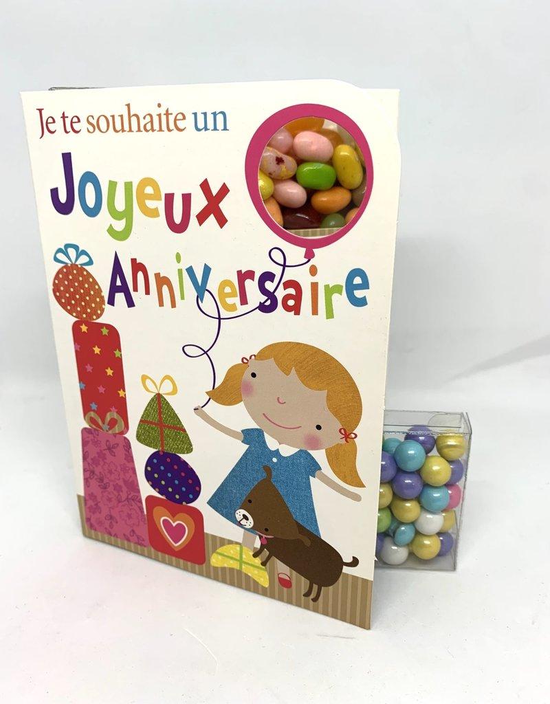 Sweeting Cards Francais - Bon Anniversaire NKHBG1F