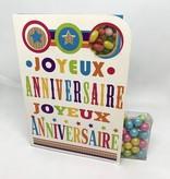 Sweeting Cards Francais - Bon Anniversaire NKHBM1