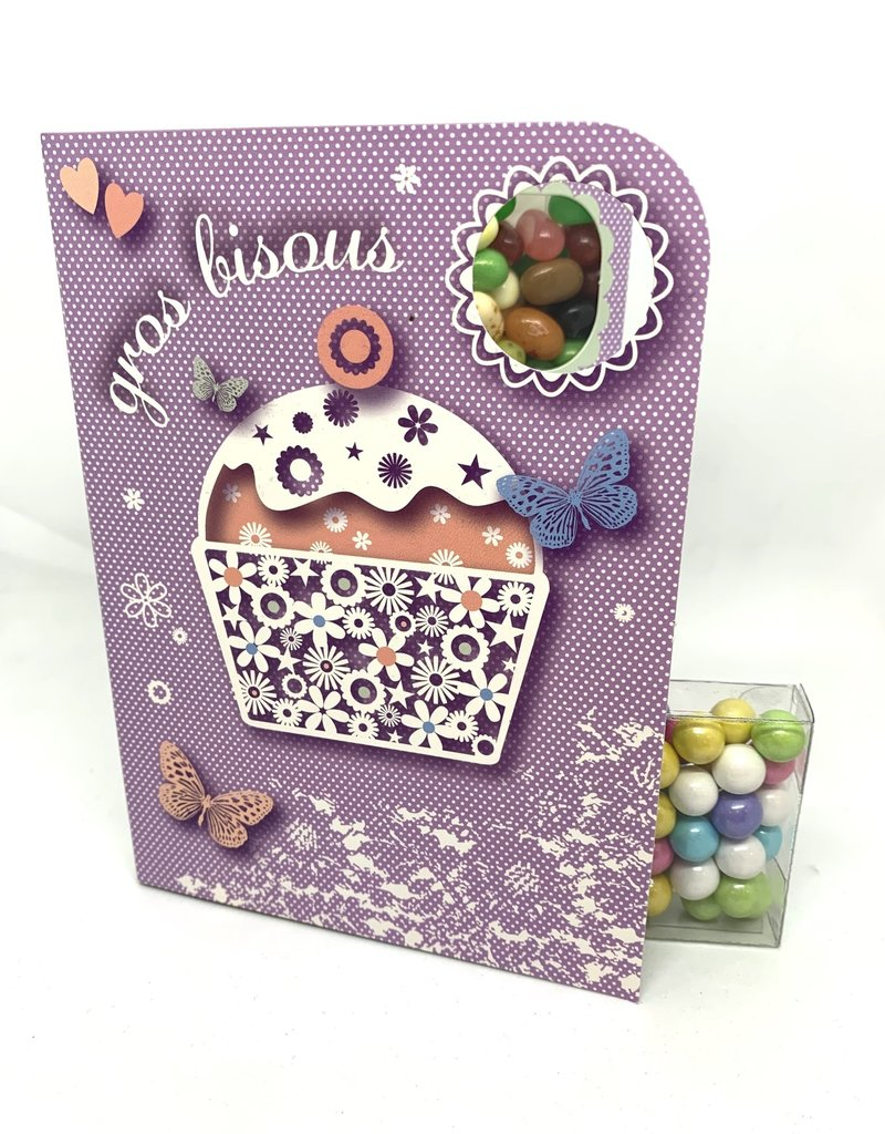Sweeting Cards Francais - Avec Amour VCWLF1F