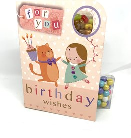 Sweeting Cards - English Vintage Happy Birthday (VCHBG2)