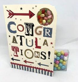 Sweeting Cards - English Retro Eccentric Congratulations (RECNM1)