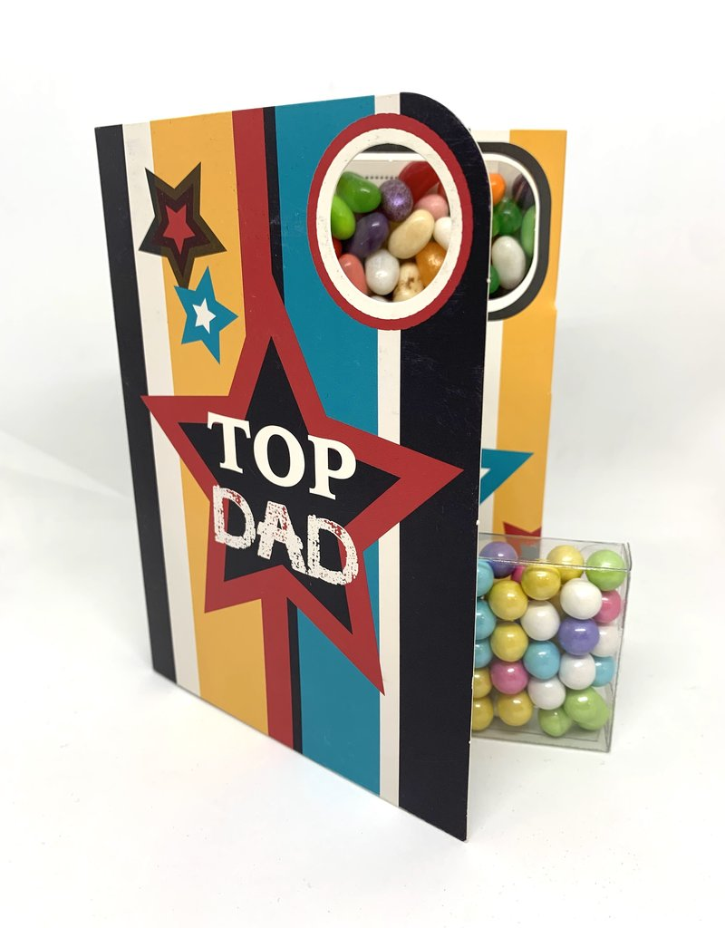 Sweeting Cards - English Mother & Father Days Top Dad (SRFAT6)