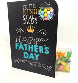 Sweeting Cards - English Mother & Father Days To The King Of All Dads (SRFAT1)