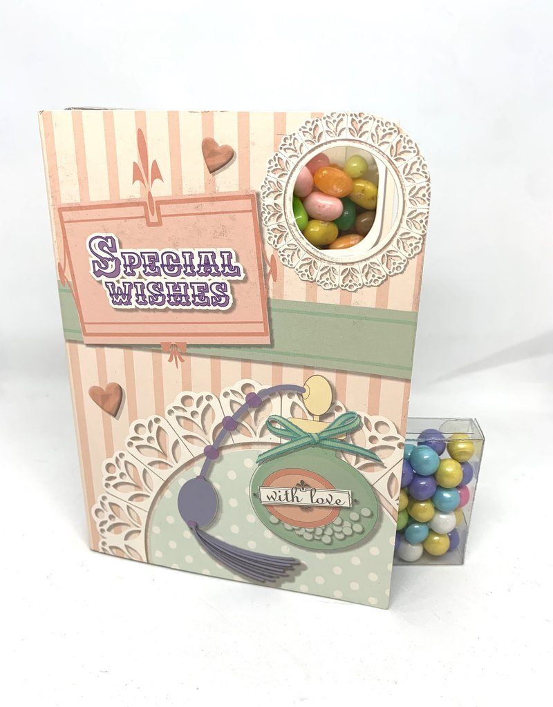 Sweeting Cards - English Vintage Candy With Love (VCWLF2)