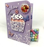 Sweeting Cards - English Vintage Candy With Love (VCWLF1)
