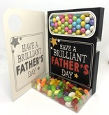 Sweeting Cards - English Mother & Father Days The Best Dad In The World (SRFAT2)