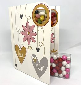 Sweeting Cards - English Mother & Father Days Love You Mum (SRMTH4)