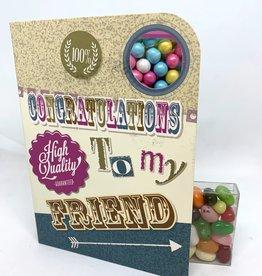 Sweeting Cards - English Retro Eccentric Congratulations (RECNF1)