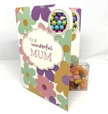 Sweeting Cards - English Mother & Father Days To A Wonderful Mum (SRMTH3)