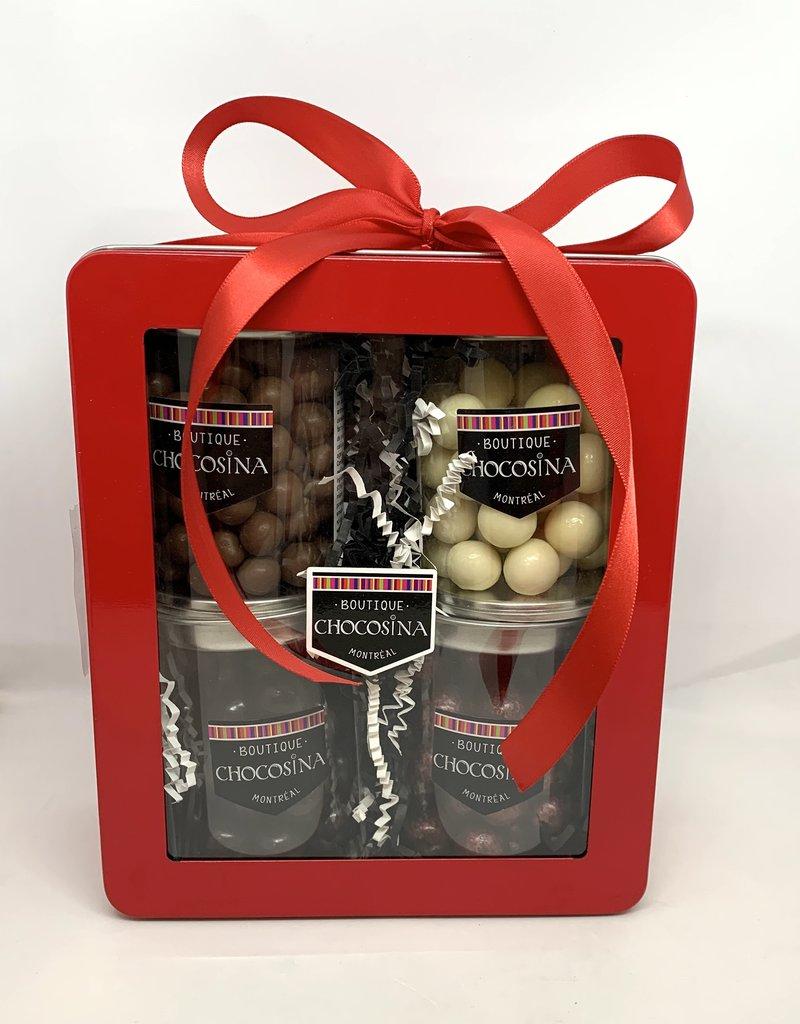 Chocolate Crunchy Ball Gift Box
