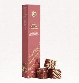 Artisanal Fudge - White Chocolate Raspberry Slider 6pcs