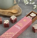Artisanal Fudge - White Chocolate Raspberry Slider 6pcs